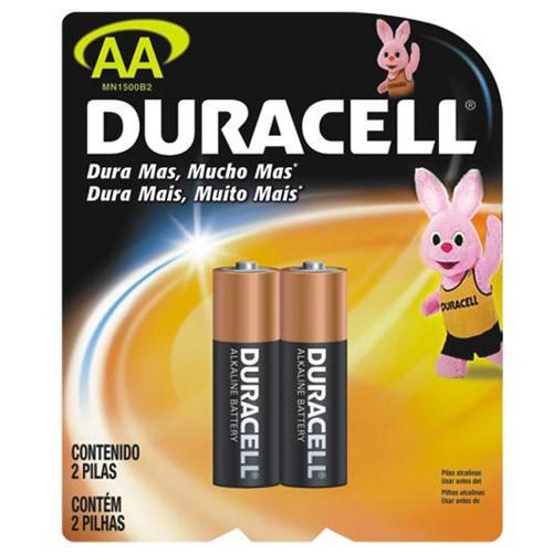 Pilhas Duracell Alcalina Aa 2Un