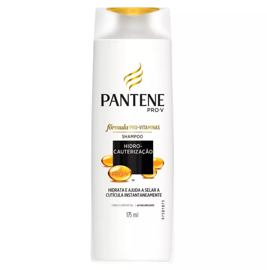 Shampoo Pantene Hidro Cauterização Frasco 175ml