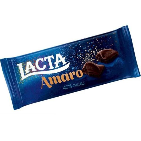 Chocolate Amaro 40 Cacau 90g Lacta