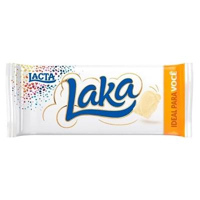 Chocolate Branco Lacta Laka Pacote 90g