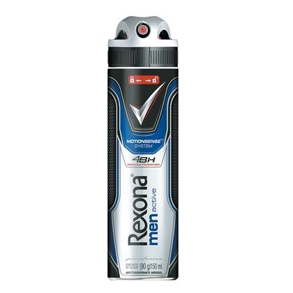 Antitranspirante Aerossol Active Dry Rexona Men Motionsense 150ml