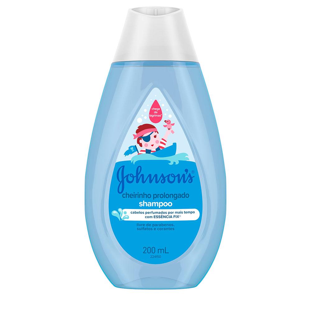 Shampoo Infantil Johnson S Cheirinho Prolongado Frasco 200ml