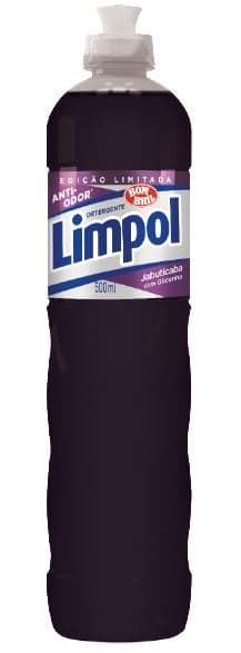 Detergente Líquido Limpol Jabuticaba 500Ml