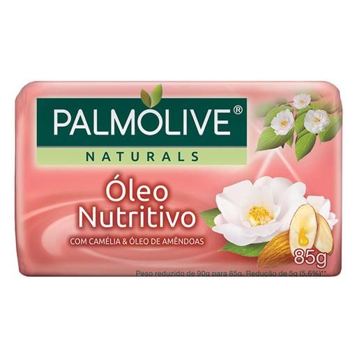 Sabonete Em Barra Óleo Nutritivo Palmolive Naturals Cartucho 85g