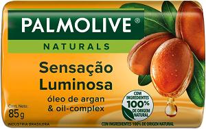 Sabonete Em Barra Sensação Luminosa Palmolive Naturals Cartucho 85g