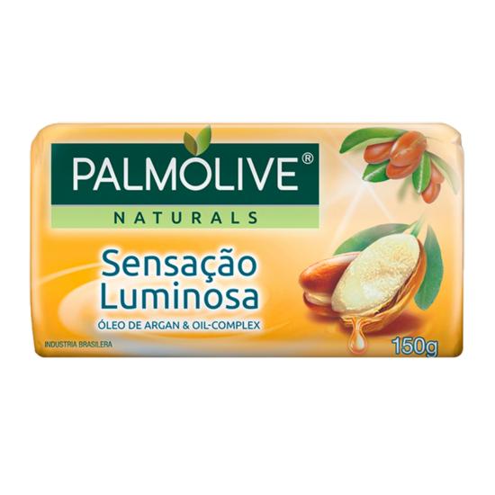 Sabonete Em Barra Sensação Luminosa Palmolive Naturals Cartucho 150g