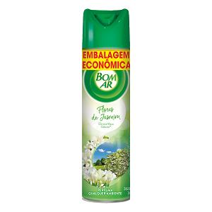 Neutralizador De Odores 6 Em 1 Flores De Jasmin Air Wick Bom Ar Frasco 360ml Embalagem Econômica