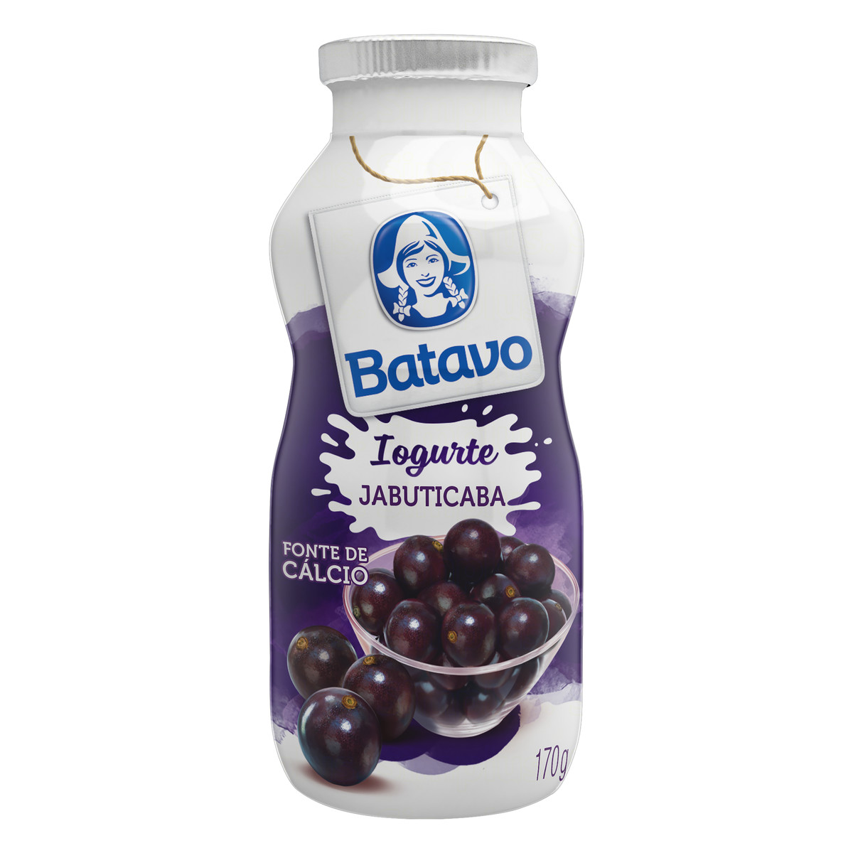 Iogurte Batavo Jabuticaba 170G