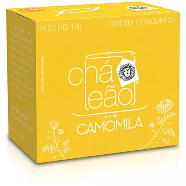 Chá De Camomila Leão Fuze Caixa 10g 10 Unidades