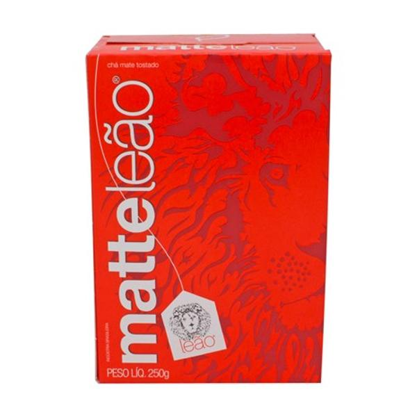 Chá Mate A Granel Natural Matte Leão Caixa 250g