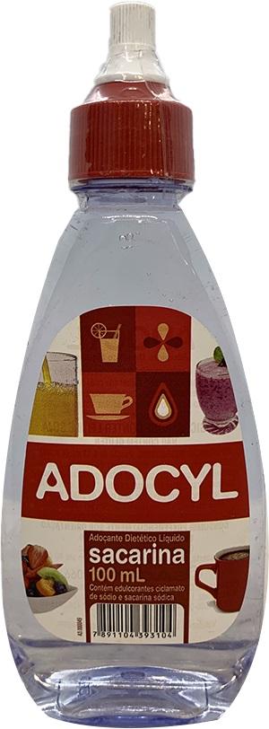 Adoçante Líquido Diet Sacarina Adocyl 100ml