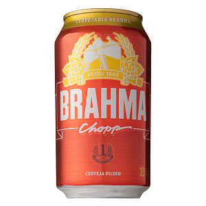 Cerveja Pilsen Brahma Chopp Lata 350ml
