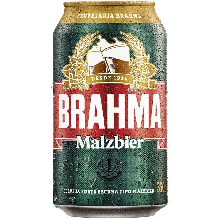 Brahma Malzbier Lata 1 Unidade