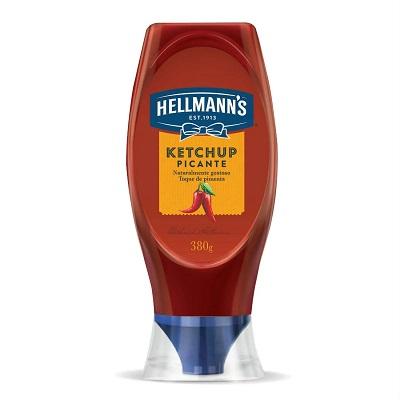 Ketchup Picante Hellmann S Burger House Squeeze 380g