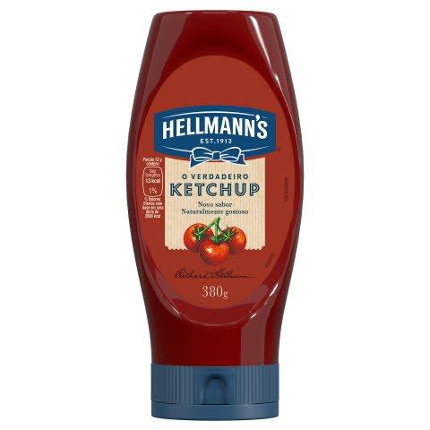 Ketchup Tradicional Hellmann S Squeeze 380g