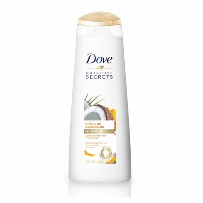 Shampoo Ritual De Reparação Dove Nutritive Secrets Frasco 200ml