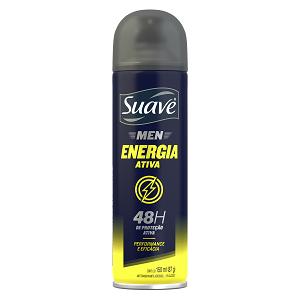 Desodorante Aerosol Suave Energia Frasco 150Ml