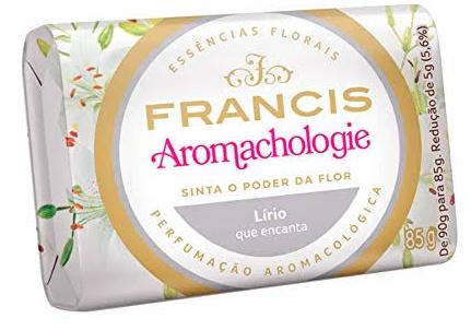 Sabonete Francis 85g Branco