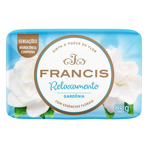 Sabonete Francis 85g Suave Azul