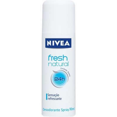 Desodorante Spray Fresh Natural Nivea 90ml