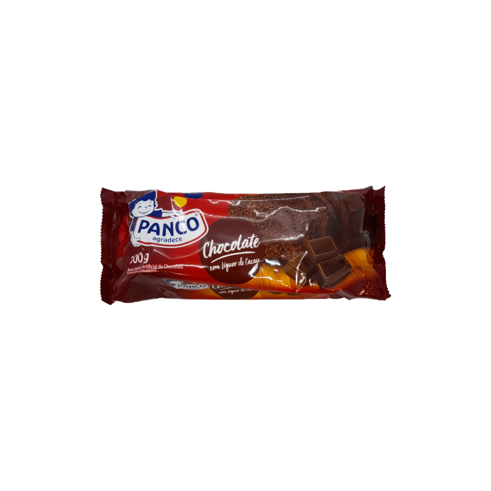 Bolo Panco Chocolate Unidade 300G