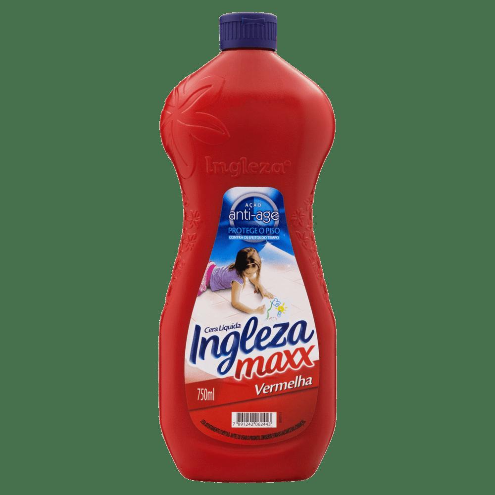 Cera Líquido Ingleza Max Vermelho 12x | Cera Ingleza Maxx