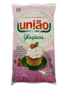 Açúcar Refinado Glaçúcar Pacote União 500g