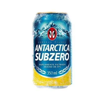 Cerveja Antarctica Sub Zero Lata 350ml