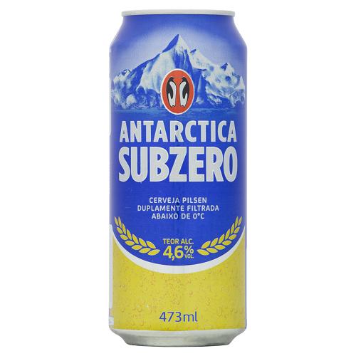 Cerveja Antarctica Sub Zero