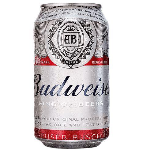 Budweiser American Lager Lata 1 Unidade
