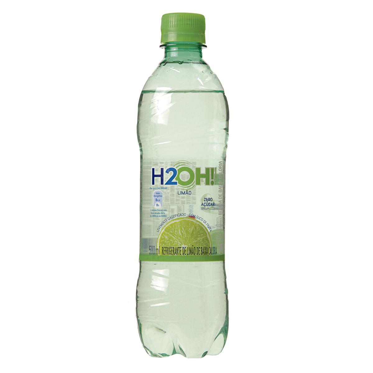 Refrigerante De Limão 500ml H2oh