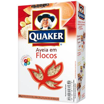 Aveia Quaker Flocos Regulares 165G