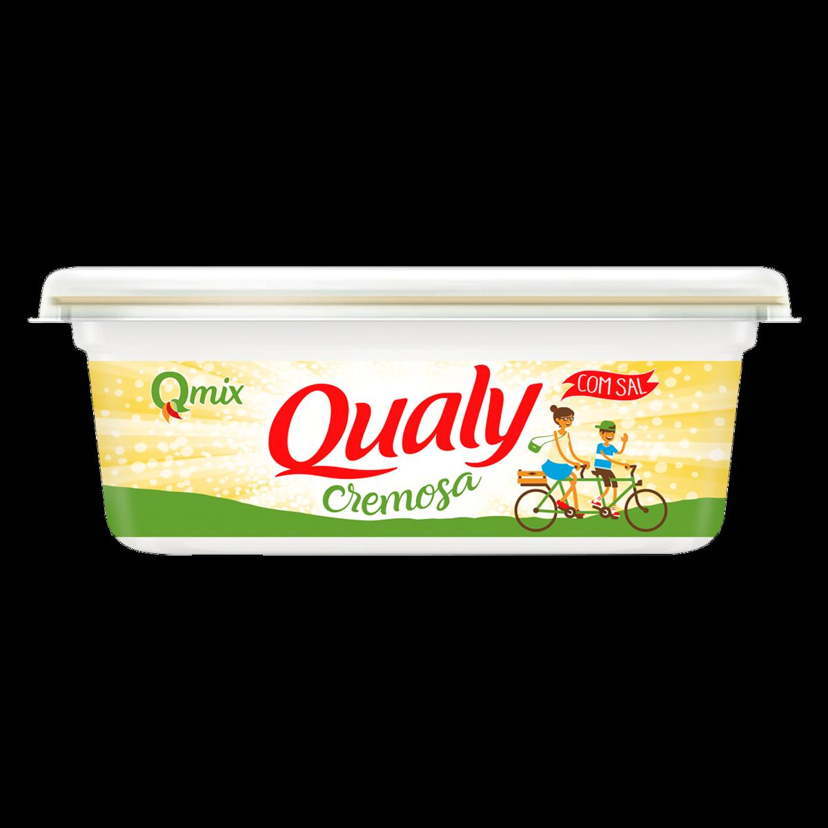 Margarina Cremosa Qualy Com Sal