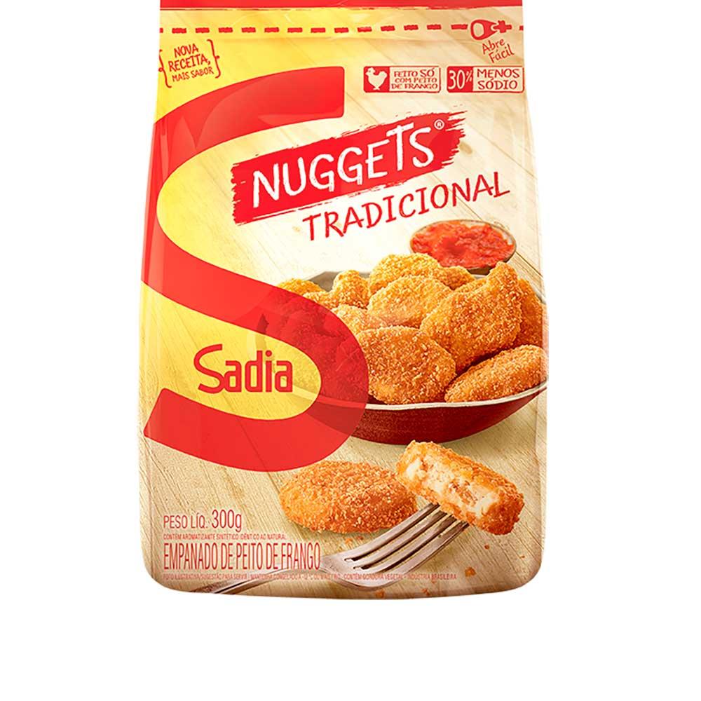 Empanados De Frango Nuggets Sadia 300g