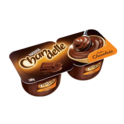 Sobremesa Lactea Chandelle Chocolate 180g Nestle
