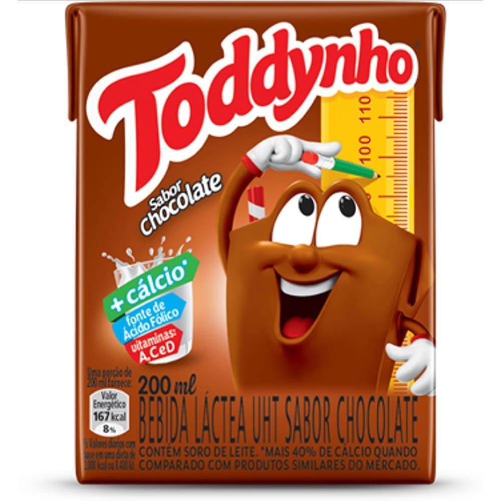 Bebida Láctea Uht Chocolate Toddynho Caixa 200ml