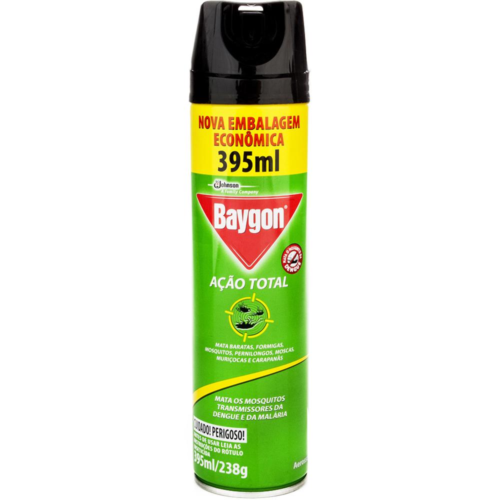 Inseticida Aerossol Mata Baratas E Formigas Baygon Frasco 360ml Embalagem Econômica