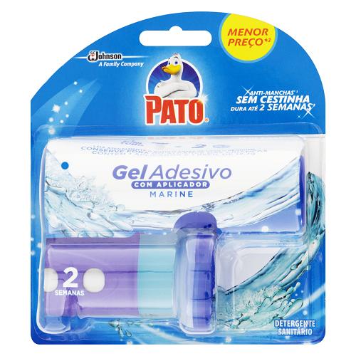 Detergente Sanitário Gel Adesivo Com Aplicador Marine Pato 12,7g