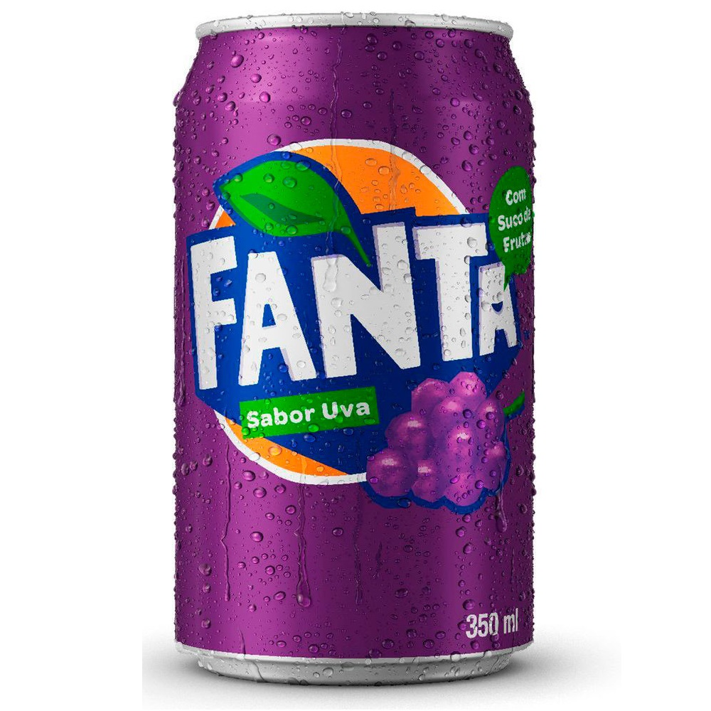 Refrigerante Uva Fanta Lata 350ml