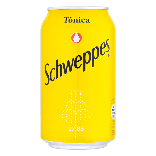 Água Tônica Schweppes Lata 350ml