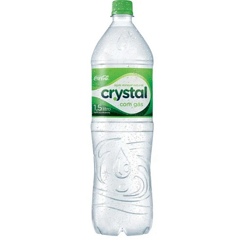 Crystal Com Gás Garrafa
