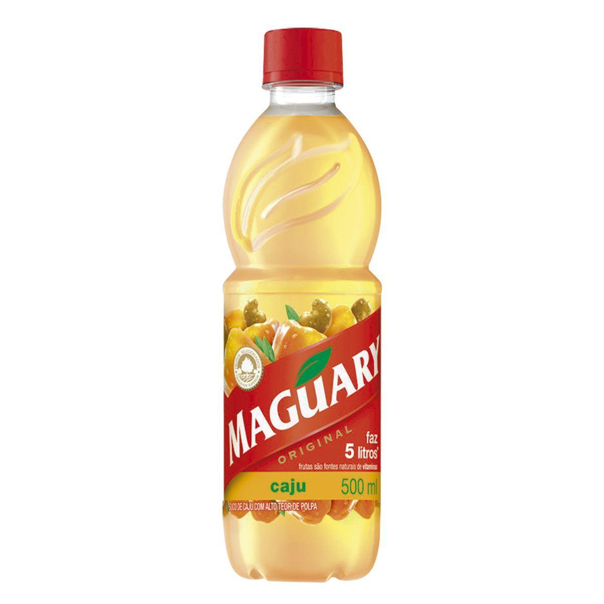 Suco Concentrado Caju Maguary Garrafa 500ml