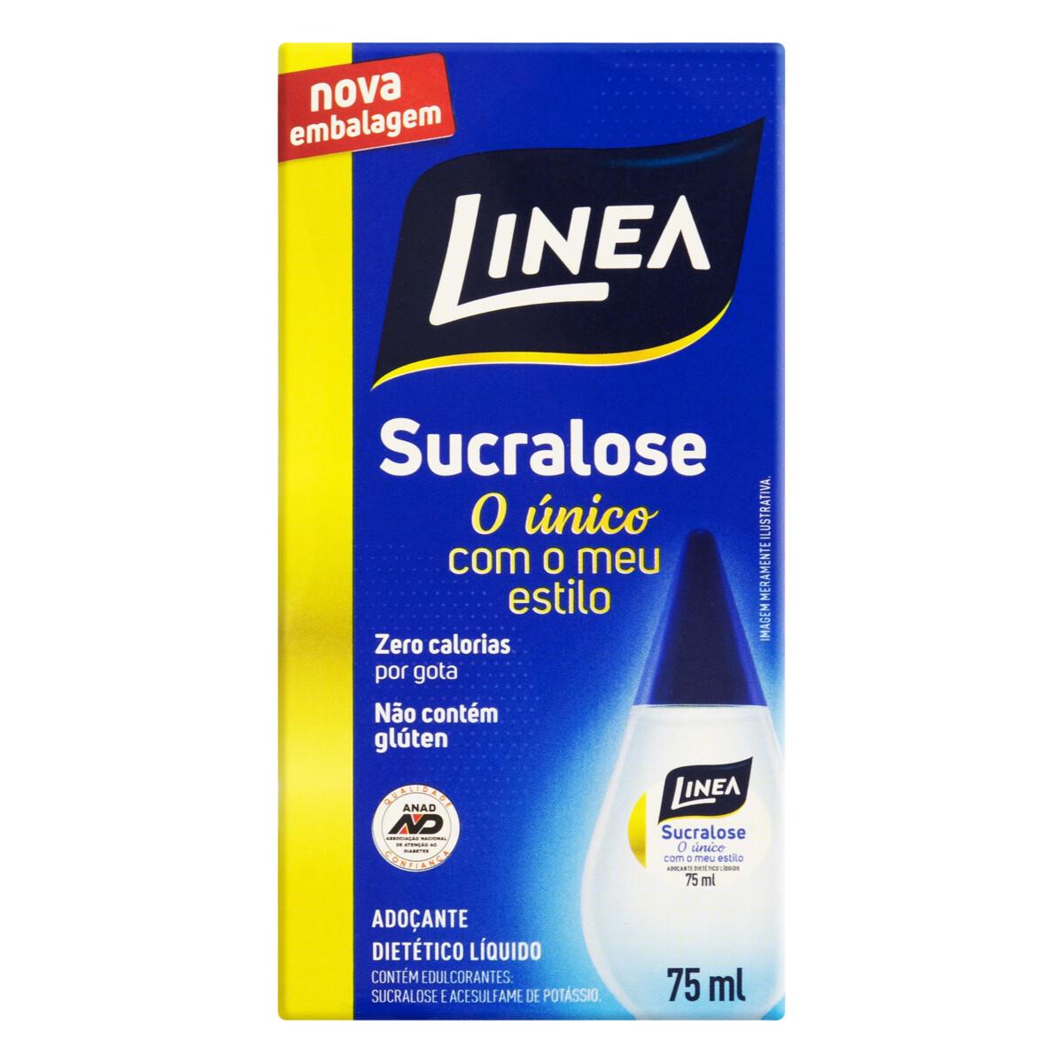 Adoçante Líquido Sucralose Linea Caixa 75ml