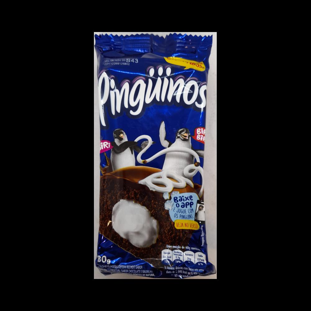 Bolinho Pinguinos Baunilha 80G