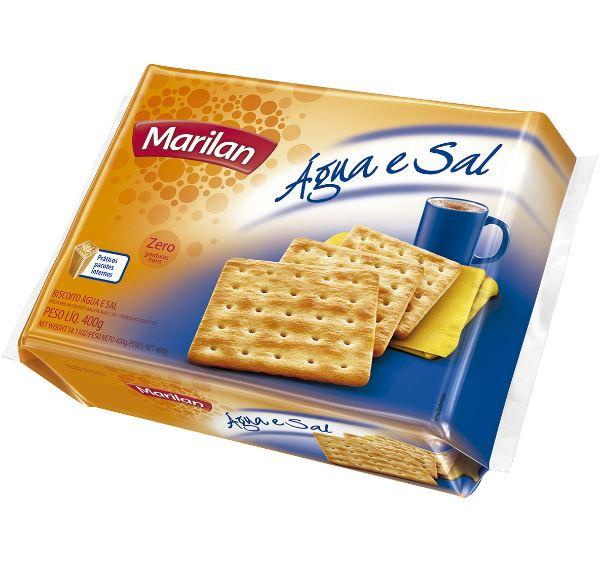 Biscoito Marilan Agua E Sal