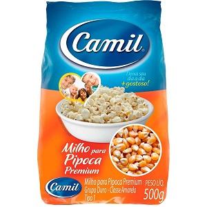 Milho para Pipoca Premium Camil Pacote 500G