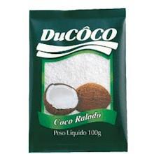 Coco Ralado Seco Ducoco Pacote 100g