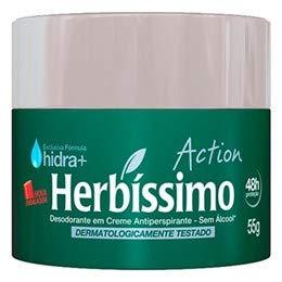 Desodorante Em Creme Herbíssimo 55g Action Unit