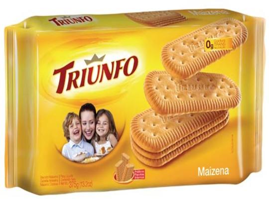 Biscoitos Triunfo Maizena R