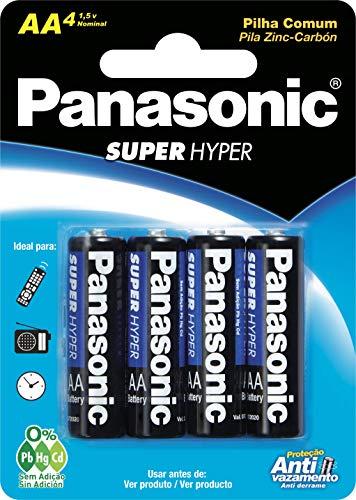 Pilha Panasonic Super Hyper Pequena 4Un